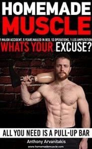 Homemade Muscle - bodyweight workout book