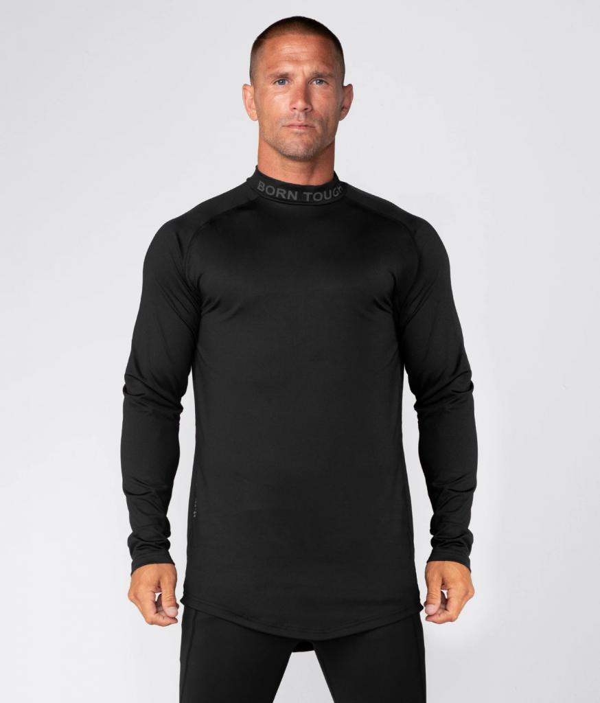 Compression Shirt on Fitness Man