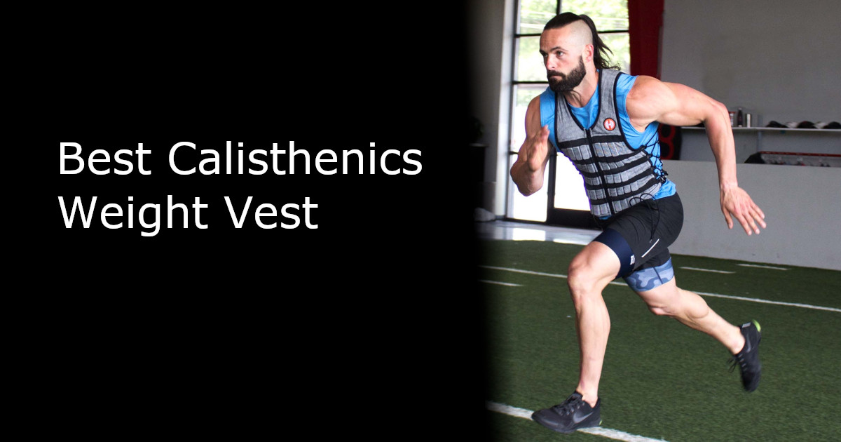 Best Calisthenics Weight Vest - Featured - Running Image