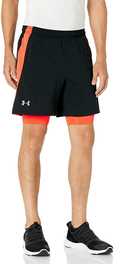 Under Armour Men's Launch Stretch Woven 2-in-1 Shorts