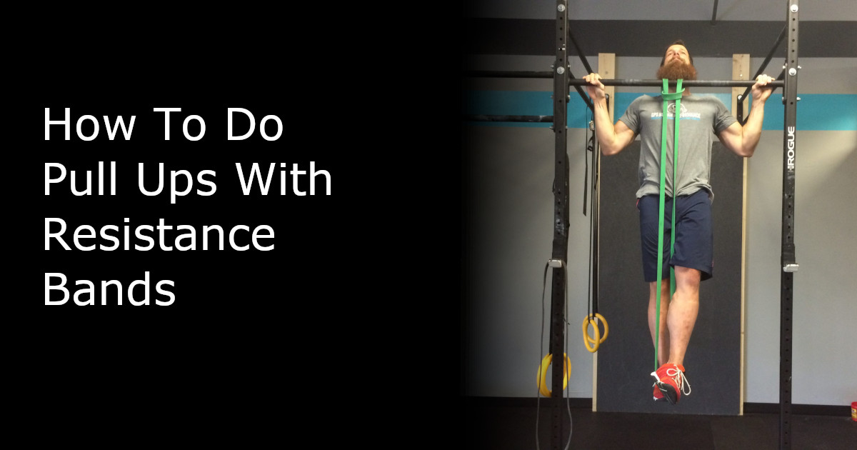 Pull Ups with Resistance Bands - Featured Image